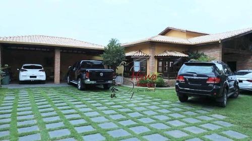 Chácara Com 5 Dormitórios À Venda, 4000 M² Por R$ 2.500.000,00 - Porta Do Sol - Mairinque/sp - Ch0016