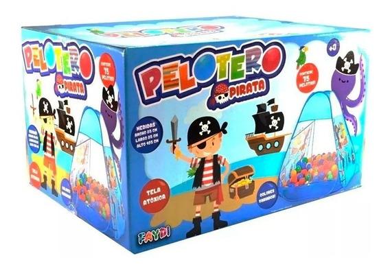 Pelotero Piratas C/75 Pelotas Fd7703 (405-0041) E. Full