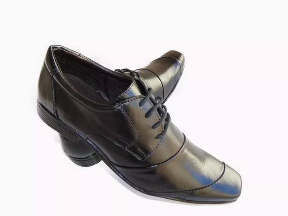 Sapato Social Masculino De Couro Legítimo Ref 990