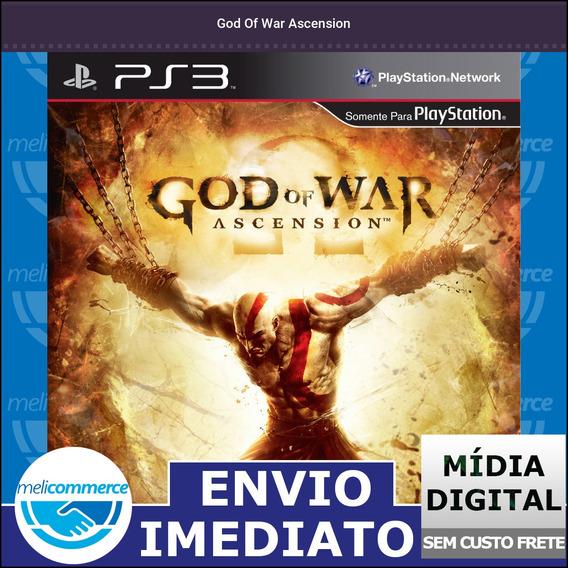 God Of War Ascension Digital Psn Envio Imediato