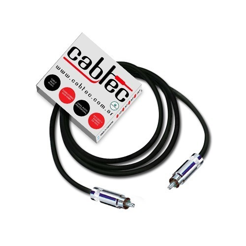 Cable Rca Rca Profesional De Audio Cabtec Neutrik Rean 1m