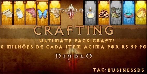 Diablo 3 Ros - Xbox One -10 Milhões De Cada Item Pack Craft!