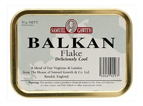 Tabaco Pipa Balkan Flake Samuel Gawith Lata Tabacos Pipas