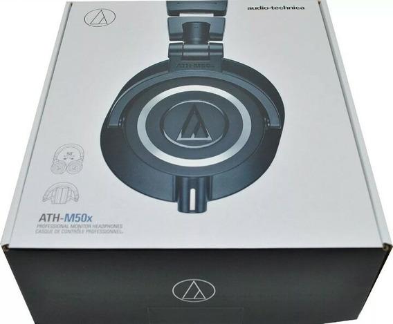 Fone Audio-technica Ath-m50x Profissional/oferta