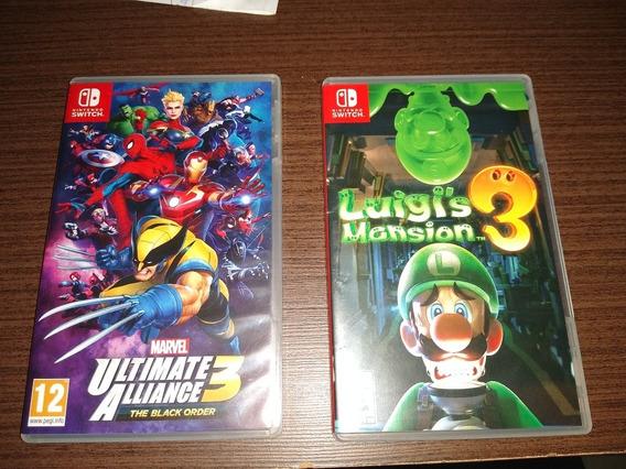 Luigi Mansion 3 + Marvel Ultimato Alliance 3