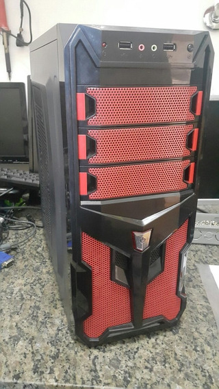 Cpu Gamer - I5, 4 Gb Ram, Ssd 120gb + Hd 500gb Placa Gts250