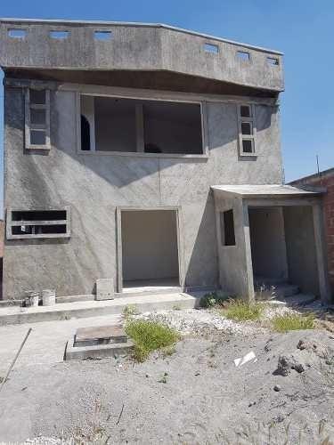 Casa En Obra Gris De 2 Niveles Rumbo A Yecapixtla