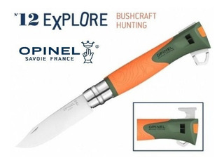 Canivete Opinel N12 Explore - Pederneira Apito Outdoor Edc
