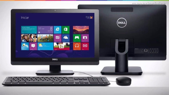 All In One Dell Optiplex I3 8gb Hd 500gb Tela Touch 20