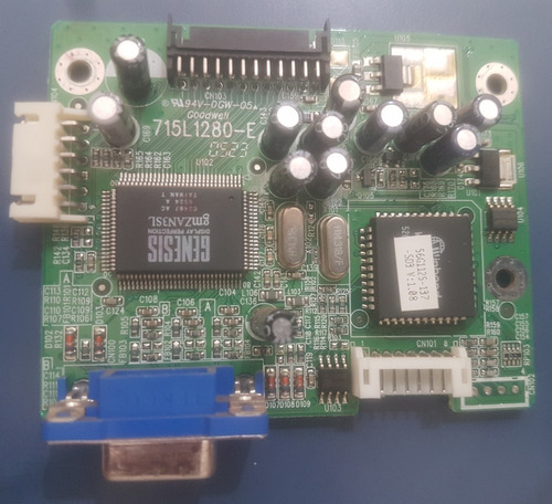 Placa Principal Monitor LG W1946p