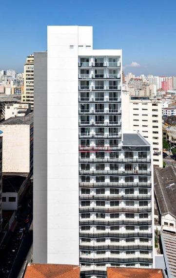 Studio Com 1 Dormitório Para Alugar, 26 M² Por R$ 1.400,00/mês - Centro - São Paulo/sp - St0246