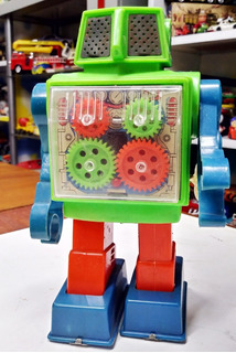 Juguete Antiguo Robot Puky - Primera Serie Ind Arg