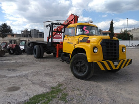 Grua Hiab Platafoma Camion Dina Diesel