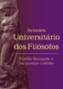 Dicionáro Universitário Dos Filósofos Noella Baraquin