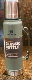 Termo De 1 Litro De Acero Stanley Color Verde