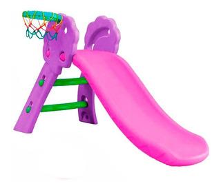 Juego Jardin Resbalin Con Aro De Basket 2 Colores Metinca