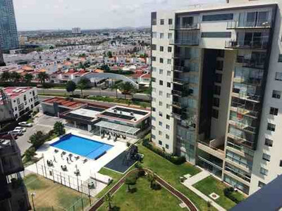 Departamento En Renta De 2 Hab. + Cto De Tv En Habitarea, Juriquilla Santa Fe