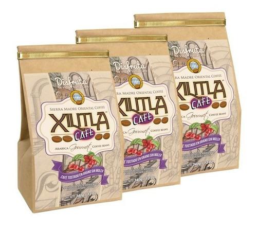 Imagen 1 de 6 de Café De Finca 3pack De 12oz/340g C/u Xilitla Café En Grano