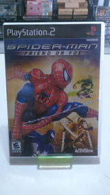 Jogo Spider-man Friend Or Foe Ps2 ( Patch )
