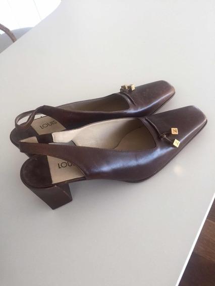 Sapato Da Grife Louis Vitton Original Número 35 Brasil
