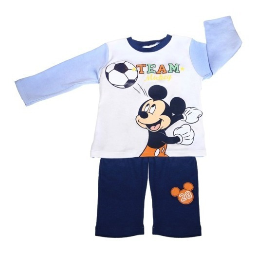 Conjunto Playera Pantalon Estampado Mickey Bb Ideal