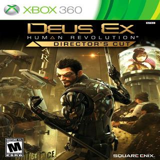 Oni Games - Deus Ex Human Revolution Directors Cut X-box 360