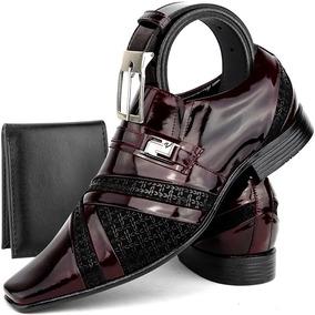 ed2d41eaa Sapato Social Masculino Couro Verniz Super Luxo/sapatofran ...