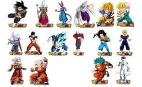 Decoração Dragon Ball Super 2 / 6 Display De 15 A 20 Cm