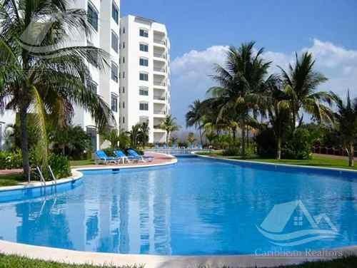 Departamento En Venta En Isla Dorada Cancún/torre Laguna