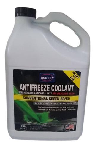 Refrigerante Rudson Antifreeze Coolant Verde 50/50 Galon Spf