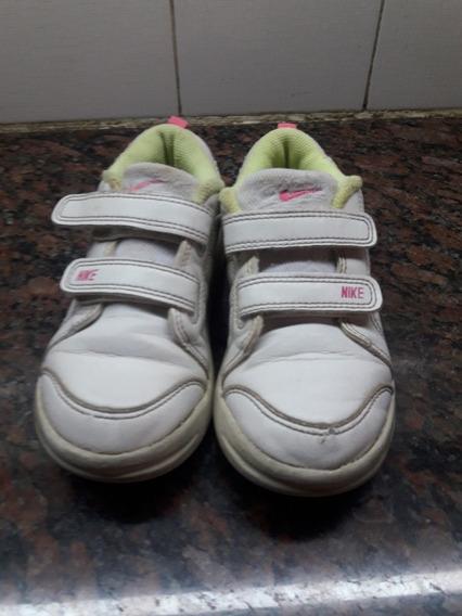 Zapatillas De Nena Cuero