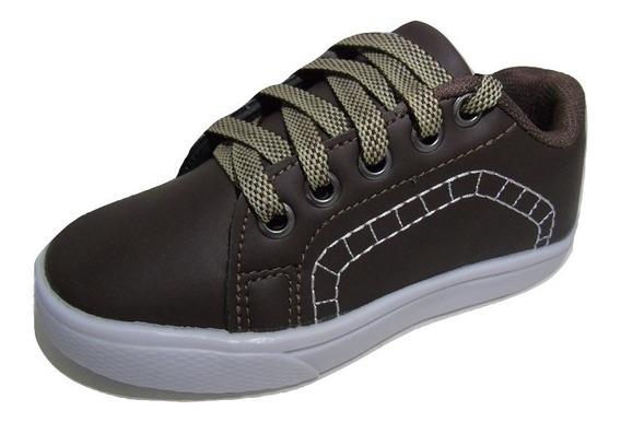 Sapato Infantil Menino Cores Variadas N-fiscal + Brinde