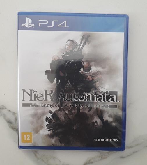 Jogo Nier Automata Ps4 - Game Of The Yorha Edition - Lacrado
