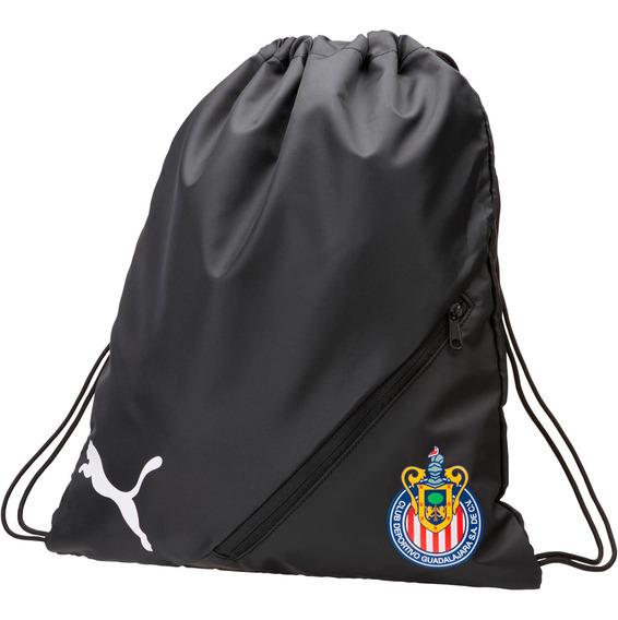 Puma Bolsa Para Gym Chivas Unisex Negra 075682 01