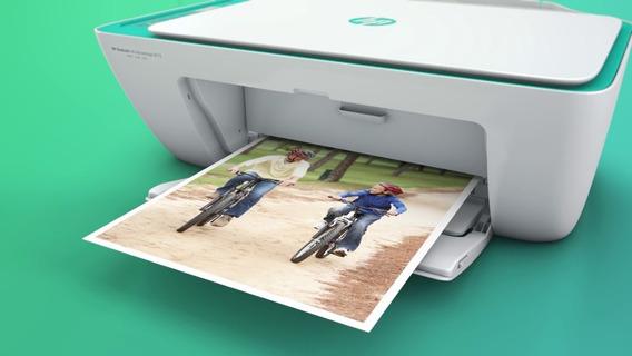 Impressora Hp Multifuncional 2675 Wifi Cartucho Recarregavel