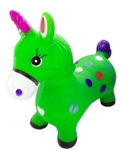 Pony Unicornio Caballito Saltarin Musical Con Luces