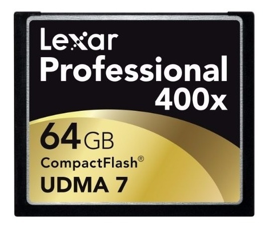 Cartão Memória Lexar Compact Flash Professional 64gb 400x