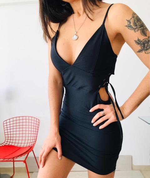 Vestido Mujer Al Cuerpo Lycra Premiun M18147
