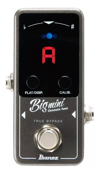 Mini Pedal Afinador Ibanez Big Mini Cromático Para Guitarra