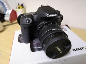 Câmera Canon 77d Aps-c 24.2mp ( 6600 Cliks) Com Lente 18-55