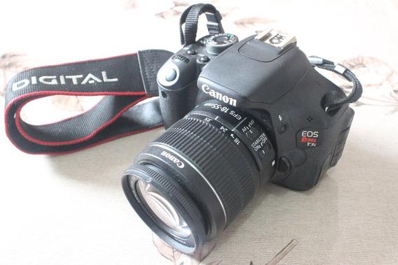 Canon T3i Com Lente 18-55mm Ef-s 3.5-5.6