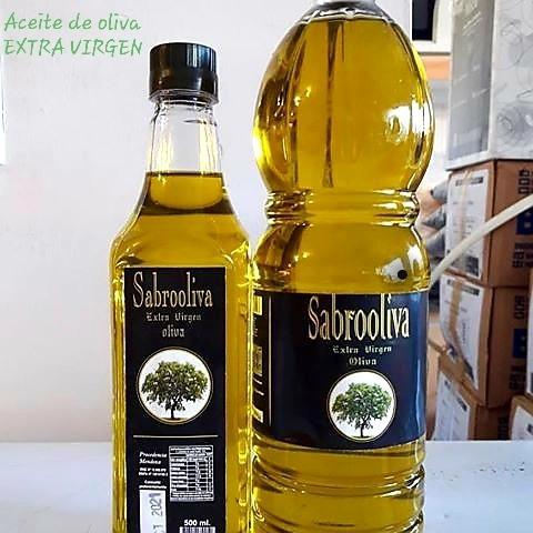 Aceite De Oliva Extra Virgen Sabrooliva De2l Cajax 6unidades ...