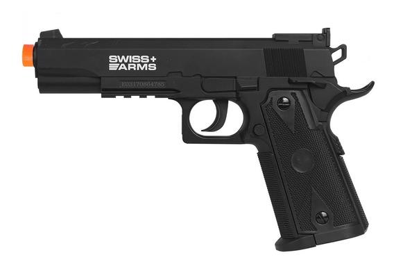 Pistola De Pressão Swiss Arms P1911 Match 4.5mm