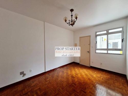 Imagem 1 de 19 de Apartamento Com 1 Dormitório Para Alugar, 50 M² Por R$ 1.600/mês - Vila Buarque - Prop Starter Adm.imóveis - Ap0842