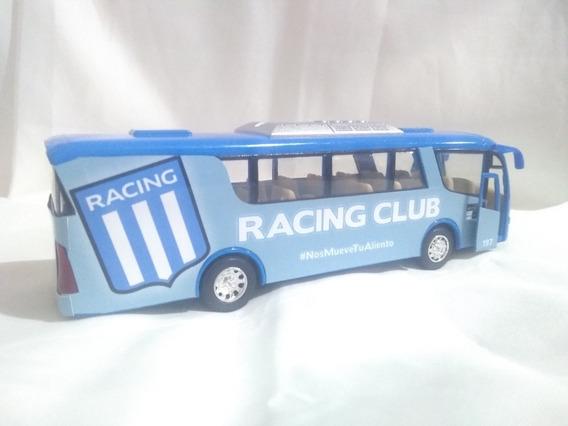 Micro Colectivo Bus Racing Club Metal 19cm