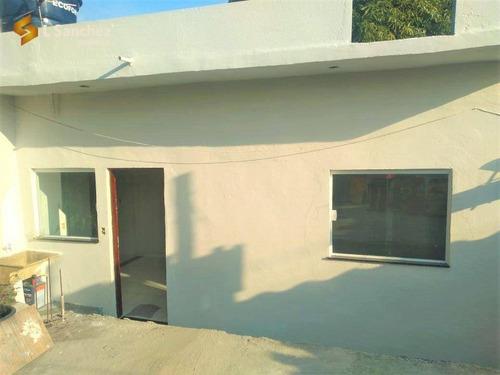 Imagem 1 de 9 de Casa De Vila Com 1 Dormitório Para Alugar, 75 M² Por R$ 700/mês - Jardim Santa Teresa - Mogi Das Cruzes/sp - Ca0330