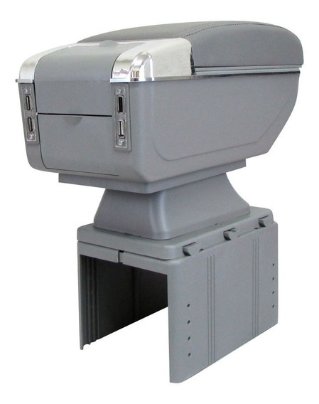 Console Apoio De Braço Universal Porta Objeto Com Usb + Cabo