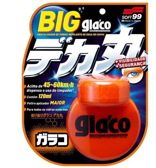 Repelente Água Para Vidros Parabrisas Soft99 Big Glaco 120ml