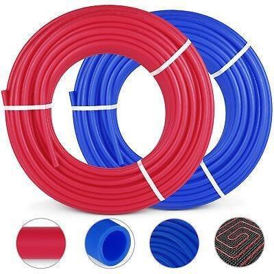 1/2 X300ft Rojo Azul Pex Tubería/tubo Pex-b Agua Potab-6742