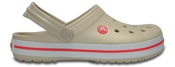 Zapato Crocs Unisex Infantil Crocband Kids Melón